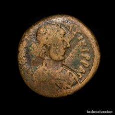 Monedas Imperio Bizantino: IMPERIO BIZANTINO ANASTASIO 491-518 DC MEDIO FOLLIS NICOMEDIA N☩I-K. Lote 186441688