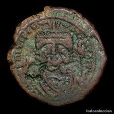 Monedas Imperio Bizantino: MAURICE TIBERIUS. 582-602. Æ DECANUMMIUM. ANNO-M-Ч //ΤHЄUP ANTIOQIA. Lote 188486580