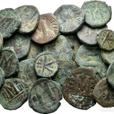 Monete Impero Bizantino: LOTE DE 25 MONEDAS BIZANTINAS! MUY INTERESANTE.. Lote 191538788