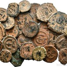 Monete Impero Bizantino: 25 MONEDAS BIZANTINAS! LOTE MUY INTERESANTE. Lote 191538891