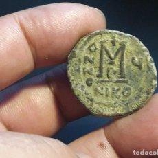 Monete Impero Bizantino: FOLLIS DE MAURICIO TIBERIO. IMPERIO BIZANTINO..... Lote 191809233