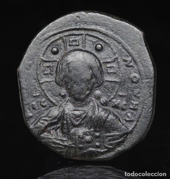 IMPERIO BIZANTINO -CRISTO - ANONYMOUS FOLLIS, TIME OF ROMANUS III, CIRCA 1028-1034.R 3120 MBC (Numismática - Periodo Antiguo - Imperio Bizantino)