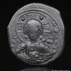 Monedas Imperio Bizantino: IMPERIO BIZANTINO -CRISTO - ANONYMOUS FOLLIS, TIME OF ROMANUS III, CIRCA 1028-1034.R 3120 MBC. Lote 192566907
