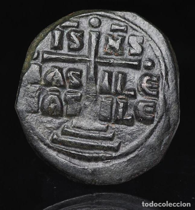 Monedas Imperio Bizantino: Imperio bizantino -CRISTO - Anonymous Follis, time of Romanus III, circa 1028-1034.r 3120 MBC - Foto 2 - 192566907