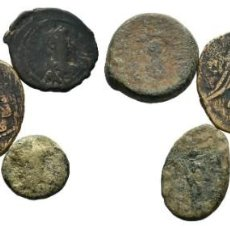 Monedas Imperio Bizantino: LOTE DE 5 MONEDAS ANTIGUAS. ESCASAS. Lote 192647968
