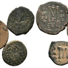 Monedas Imperio Bizantino: LOTE DE 5 MONEDAS ANTIGUAS. ESCASAS. Lote 192648405