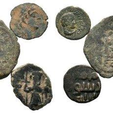 Monedas Imperio Bizantino: LOTE DE 5 MONEDAS ANTIGUAS. ESCASAS. Lote 192648786
