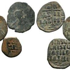 Monedas Imperio Bizantino: LOTE DE 5 MONEDAS ANTIGUAS. ESCASAS. Lote 192649028