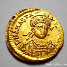 Monedas Imperio Bizantino: ANASTASIO SÓLIDO (491-518). Lote 194340713