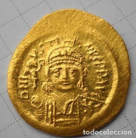 SOLID ÛSTIN II (565-578) (Numismática - Periodo Antiguo - Imperio Bizantino)