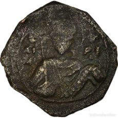 Monedas Imperio Bizantino: MONEDA, JOHN II COMNENUS, HALF TETARTERON, 1118-1143, THESSALONICA, BC+, COBRE. Lote 194652310