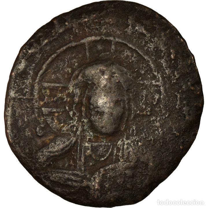 MONEDA, ANONYMOUS, FOLLIS, 1059-1067, CONSTANTINOPLE, BC+, COBRE, SEAR:1855 (Numismática - Periodo Antiguo - Imperio Bizantino)