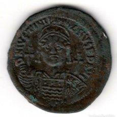 Monedas Imperio Bizantino: IMPERIO BIZANTINO: 40 NUMMI BRONCE JUSTINIANO I (527-565 D.C.) CONSTANTINOPLA. Lote 194953310