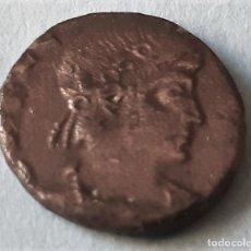 Monedas Imperio Bizantino: RARA MONEDA FOLLIS - CONSTANTINOPLA - CONSTANTINO V - AÑOS 718 A 775 D. DE C.. Lote 201711521