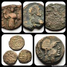 Moedas Império Romano: #PONTUELPRECIO. @CX. LOTE DE 7 MONEDAS BIZANTINAS. Lote 202496691