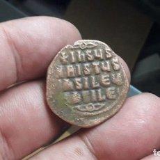 Moedas Império Romano: BASILIO II Y CONSTANTINO VIII AD 976-1028. CONSTANTINOPLA .ROSTRO DE JESUCRISTO.. Lote 202781216