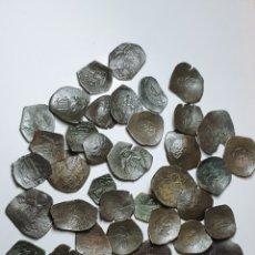 Monedas Imperio Bizantino: MONEDAS BIZANTINAS ASTRON TRACHY IMPERIO BIZANTINO. LOTE 42 MONEDAS ¡MUY BONITAS PARA CATALOGAR. Lote 203428241