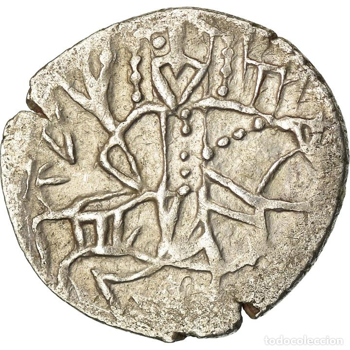 Monedas Imperio Bizantino: Moneda, Alexis IV Comnène, Asper, 1417-1429, BC+, Plata, Sear:2641 - Foto 2 - 205341406