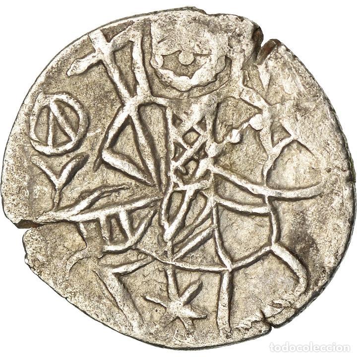 MONEDA, ALEXIS IV COMNÈNE, ASPER, 1417-1429, BC+, PLATA, SEAR:2641 (Numismática - Periodo Antiguo - Imperio Bizantino)