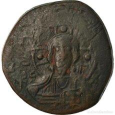 Monedas Imperio Bizantino: MONEDA, ANONYMOUS, FOLLIS, 1078-1081, CONSTANTINOPLE, BC+, COBRE, SEAR:1889. Lote 205343453