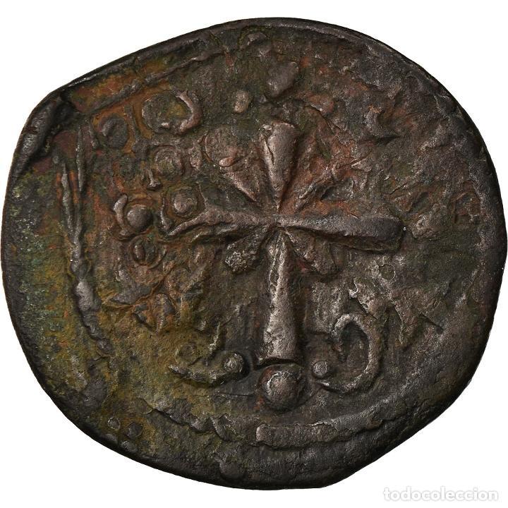 Monedas Imperio Bizantino: Moneda, Anonymous, Follis, 1078-1081, Constantinople, BC+, Cobre, Sear:1889 - Foto 2 - 205344043