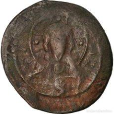 Monedas Imperio Bizantino: MONEDA, ANONYMOUS, FOLLIS, 1078-1081, CONSTANTINOPLE, BC+, COBRE, SEAR:1889. Lote 205344097