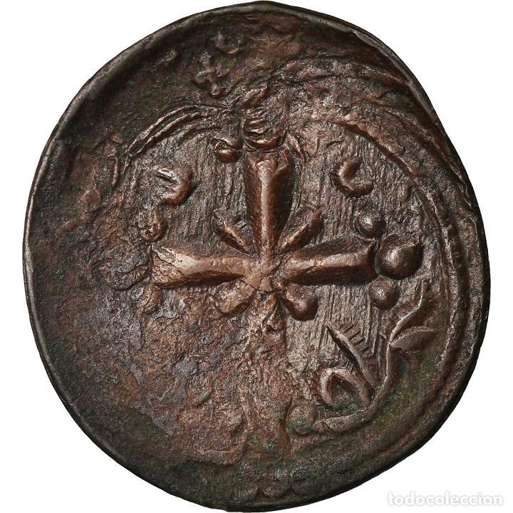 Monedas Imperio Bizantino: Moneda, Anonymous, Follis, 1078-1081, Constantinople, BC+, Cobre, Sear:1889 - Foto 2 - 205347057