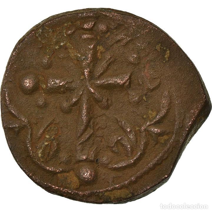 Monedas Imperio Bizantino: Moneda, Anonymous, Follis, 1078-1081, Constantinople, BC+, Cobre, Sear:1889 - Foto 2 - 205348237