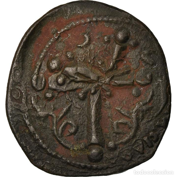 Monedas Imperio Bizantino: Moneda, Anonymous, Follis, 1078-1081, Constantinople, MBC, Cobre, Sear:1889 - Foto 2 - 205349257