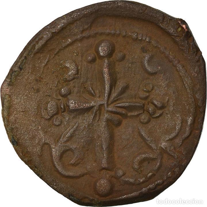 Monedas Imperio Bizantino: Moneda, Anonymous, Follis, 1078-1081, Constantinople, MBC, Cobre, Sear:1889 - Foto 2 - 205349851