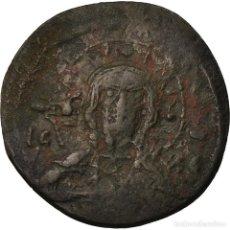Monedas Imperio Bizantino: MONEDA, ANONYMOUS, FOLLIS, 1078-1081, CONSTANTINOPLE, BC+, COBRE, SEAR:1889. Lote 205350298
