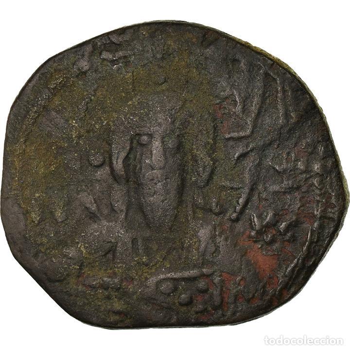 MONEDA, ANONYMOUS, FOLLIS, 1078-1081, CONSTANTINOPLE, BC+, COBRE, SEAR:1889 (Numismática - Periodo Antiguo - Imperio Bizantino)