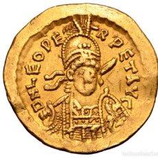 Monedas Imperio Bizantino: SÓLIDO DE LEÓN I 462/466 D.C - CONSTANTINOPLA - 4,42G AU - MBC-. Lote 207042383