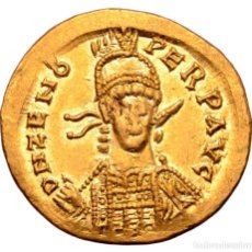 Monedas Imperio Bizantino: SÓLIDO DE ZENÓN 476/491 D.C - CONSTANTINOPLA - 4,49G AU - MBC-. Lote 207042458
