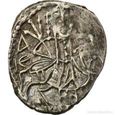 Monedas Imperio Bizantino: MONEDA, ALEXIS IV COMNÈNE, ASPER, 1417-1429, MBC, PLATA, SEAR:2641. Lote 207046998