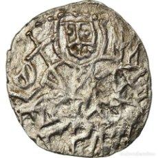 Monedas Imperio Bizantino: MONEDA, ALEXIS IV COMNÈNE, ASPER, 1417-1429, MBC, PLATA, SEAR:2641. Lote 207048396