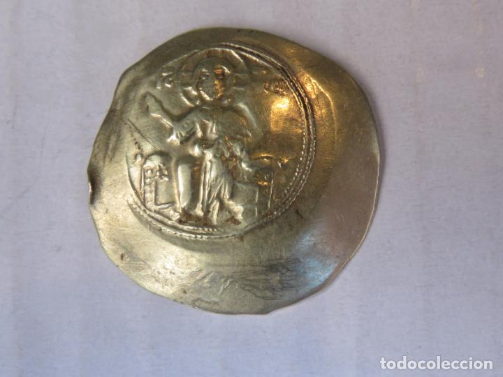 Monedas Imperio Bizantino: RARISIMA MONEDA DEL IMPERIO BIZANTINO EN ORO MACIZO DE 22 KT CÓNCAVA-CONVEXA DEL SIGLO XI, 4,35 GRAM - Foto 13 - 207056625
