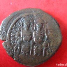 Monedas Imperio Bizantino: I. BIZANTINO. FOLLIS DE JUSTINO II Y SOFIA. #MN. Lote 49164303