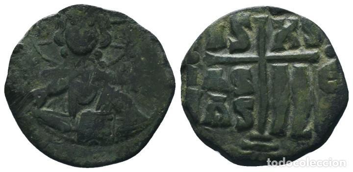 CONSTANTINO X, CLASE E ANONIMO FOLLIS, 1059-1067. 7.65 GR 28MM MBC+ (Numismática - Periodo Antiguo - Imperio Bizantino)