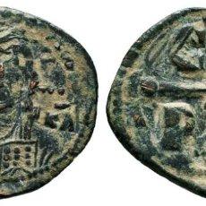 Monedas Imperio Bizantino: ANÓNIMO. FOLLIS, AE. 6.3 GR 27 MM MBC+/EBC-. Lote 213923975