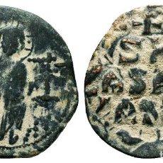 Monedas Imperio Bizantino: ANÓNIMO. FOLLIS, AE. 5,6 GR 28 MM MBC/MBC+. Lote 213923990