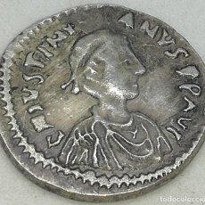 Monedas Imperio Bizantino: RÉPLICA MONEDA AÑOS 538-542 D.C. 5 NUMMI. EMPERADOR JUSTINIANO I. IMPERIO BIZANTINO CONSTANTINOPOLIS. Lote 216850423