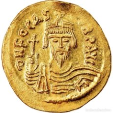 Monedas Imperio Bizantino: MONEDA, PHOCAS, SOLIDUS, 607-610, CONSTANTINOPLE, SC, ORO, SEAR:620. Lote 221931731