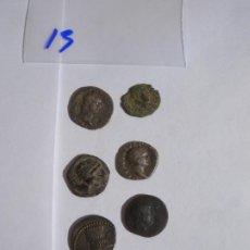 Monedas Imperio Bizantino: LOTE 7 MONEDAS. Lote 222128905