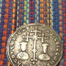 Monedas Imperio Bizantino: RARO MILIARESION DE BASILIO II Y CONSTANTINO VIII (976-1025 D.C.). Lote 222434955