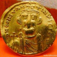 Monedas Imperio Bizantino: CONSTANT. IMP. BIZANTINO, SÓLIDO, 641-688 DC.CONSTANS II.ORO.PESO 4,31 GR. (938). Lote 243297630