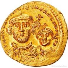 Monedas Imperio Bizantino: MONEDA, HERACLIUS, SOLIDUS, 616-625, CONSTANTINOPLE, EBC, ORO, SEAR:738. Lote 244008350