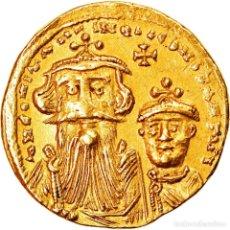 Monedas Imperio Bizantino: MONEDA, CONSTANS II, SOLIDUS, 641-668 AD, CONSTANTINOPLE, EBC, ORO, SEAR:959. Lote 244018765