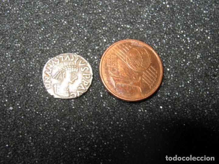 ¼ SILIQUA - EN NOMBRE DE ANASTASIUS I, 491-518 Y THEODERIC, 475-526 SIRMIUM; (Numismática - Periodo Antiguo - Imperio Bizantino)