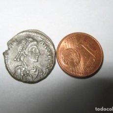 Monedas Imperio Bizantino: TEODOSIO I.MONEDA DE PLATA DE 3,60 GR DE ANTIOQUÍA. 379-395 AD NESIGURNO.. Lote 245550815